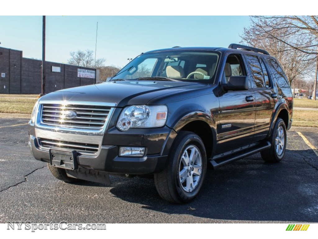 2007 ford explorer xlt 4x4 in carbon metallic b41124 cars for sale in new. Black Bedroom Furniture Sets. Home Design Ideas