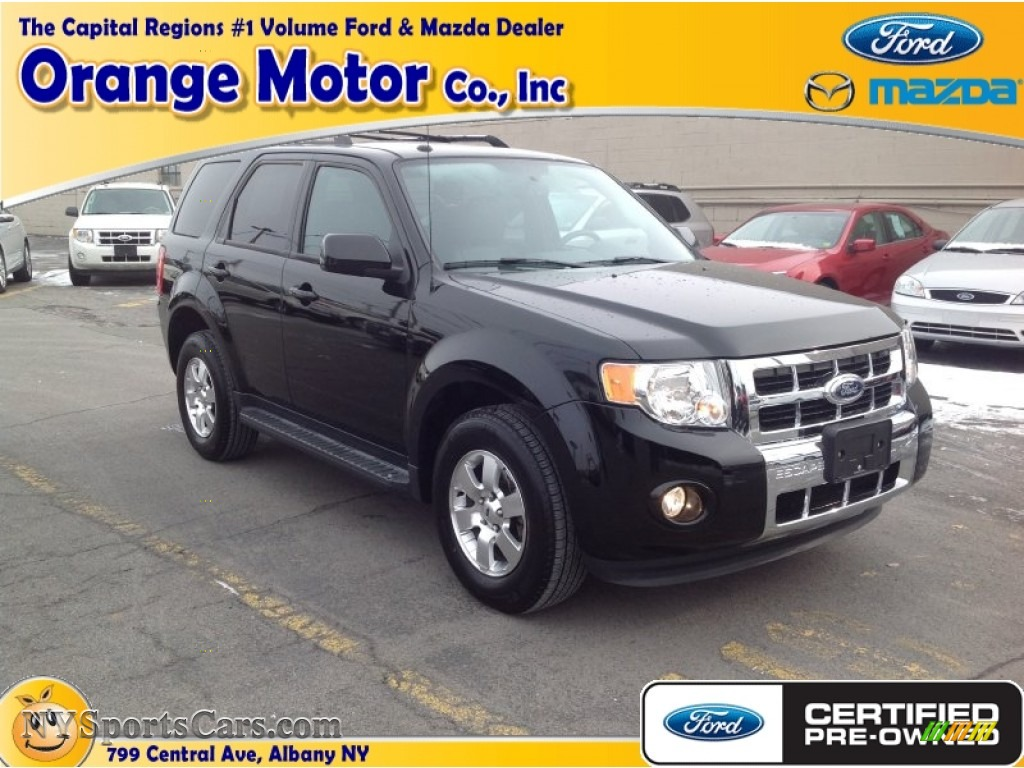 2012 ford escape limited 4wd in ebony black a47052 for Orange motors albany new york