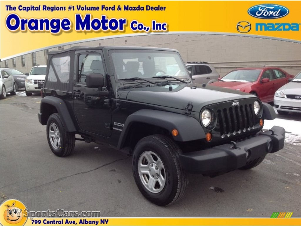 2010 jeep wrangler sport 4x4 in natural green pearl for Orange motors albany new york