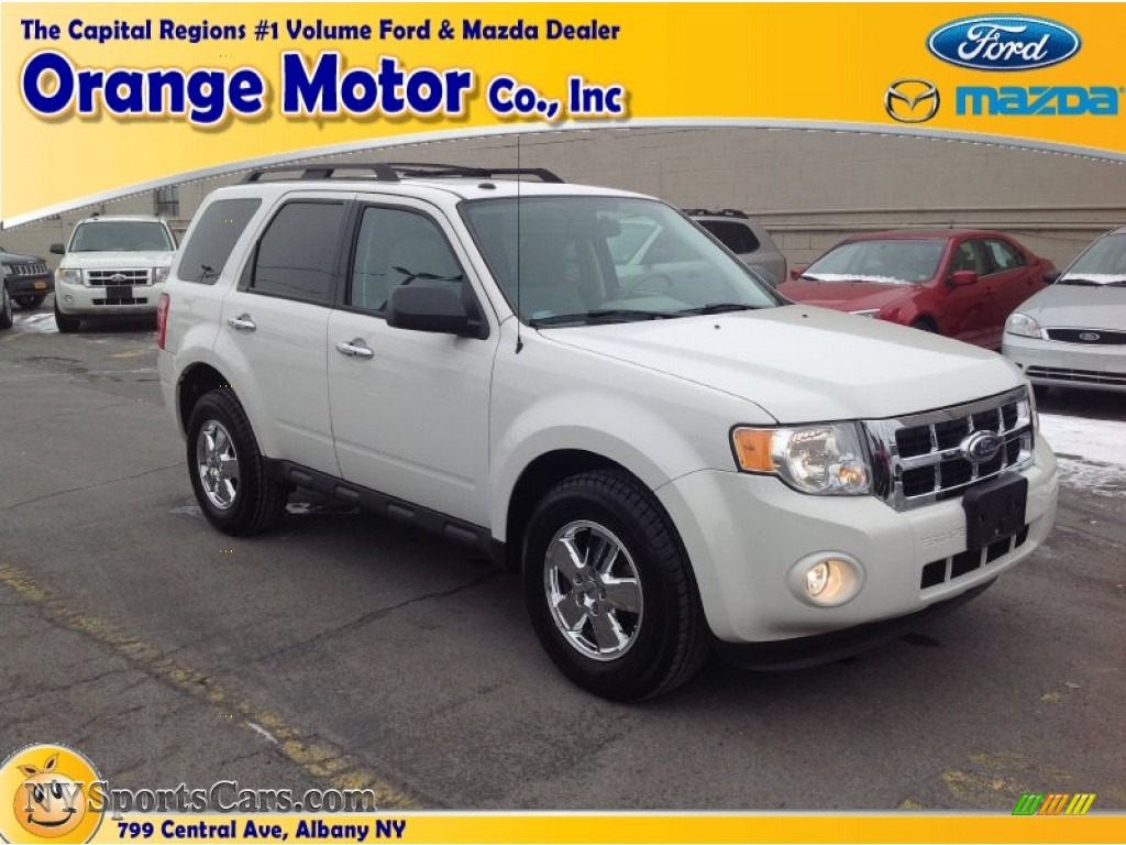 2012 ford escape xlt v6 4wd in oxford white photo 24 for Orange motors albany new york