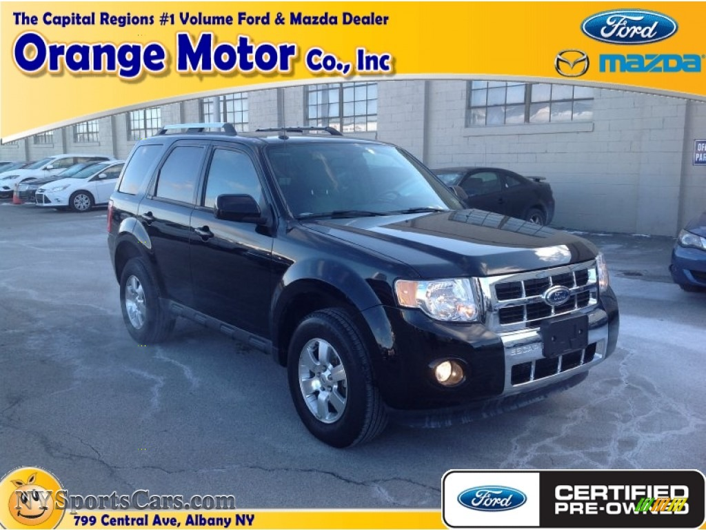2012 ford escape limited v6 4wd in ebony black photo 18 for Orange motors albany new york