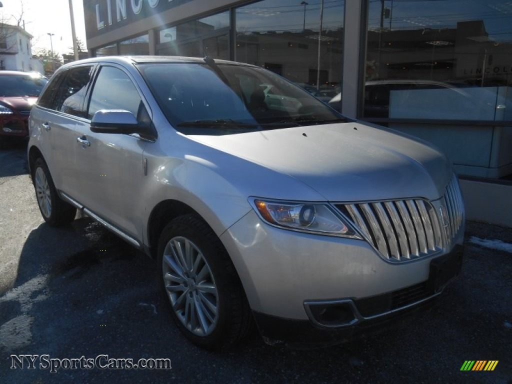 2012 lincoln mkx awd in ingot silver metallic l16115 cars for sale in new. Black Bedroom Furniture Sets. Home Design Ideas
