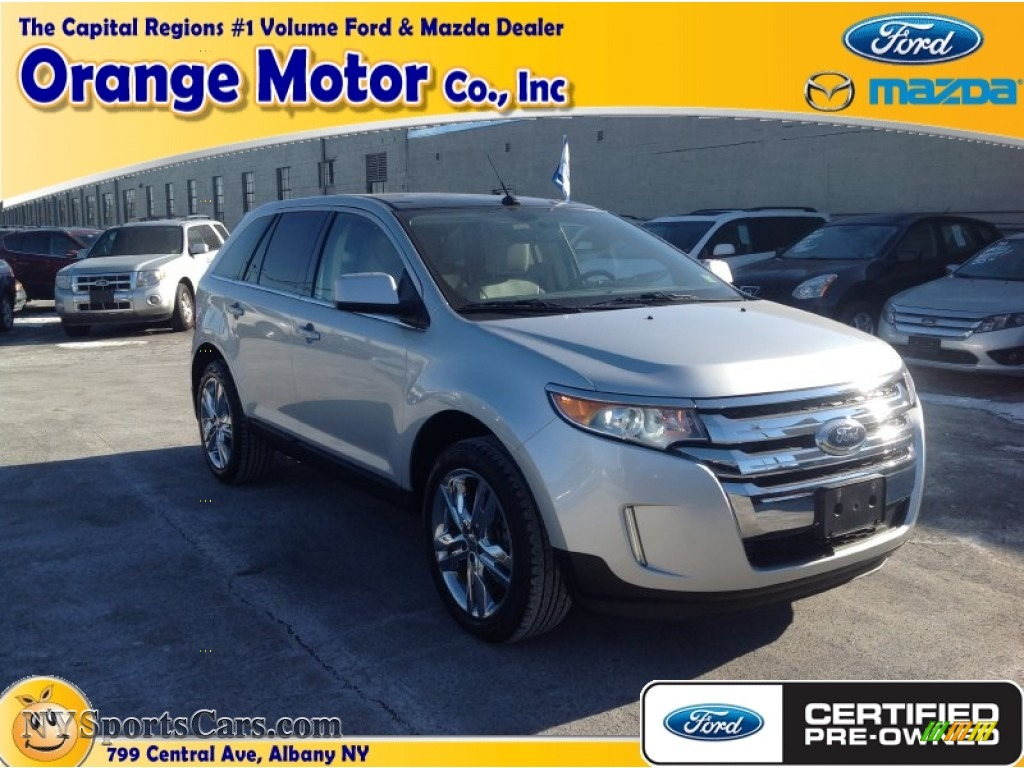 2011 ford edge limited awd in ingot silver metallic for Orange motors albany new york