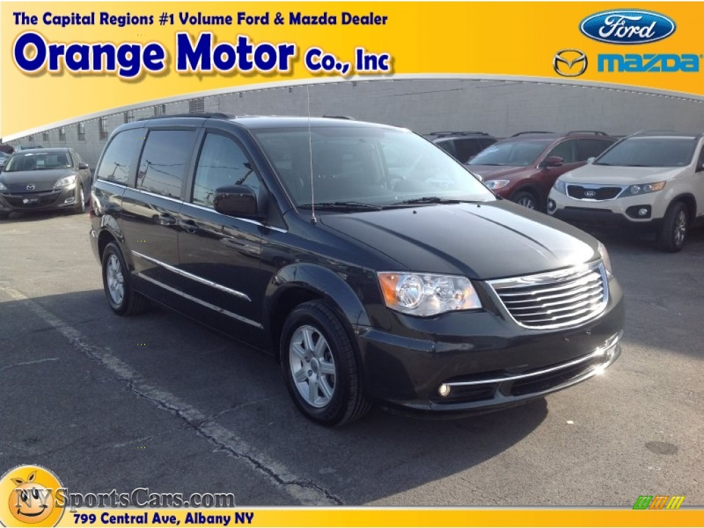 2011 chrysler town country touring in dark charcoal for Orange motors albany new york