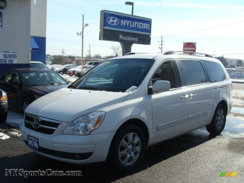 2007 Hyundai Entourage Gls In Cosmic White 013390