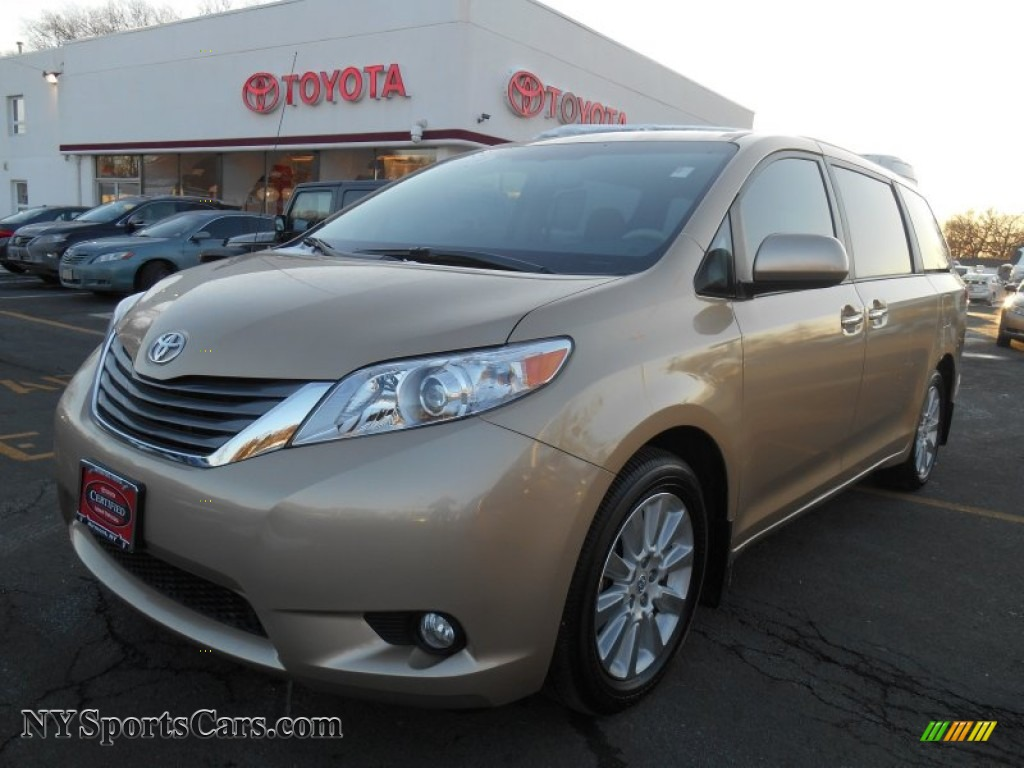 2013 toyota sienna limited awd in sandy beach metallic. Black Bedroom Furniture Sets. Home Design Ideas