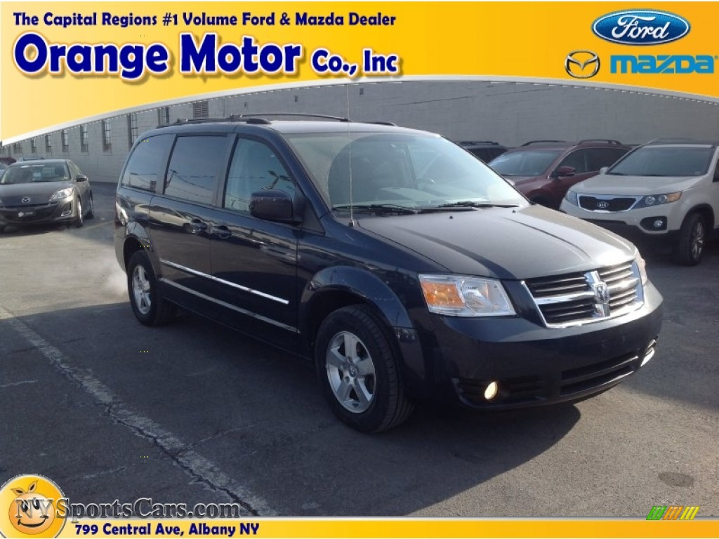 2009 dodge grand caravan sxt in modern blue pearl 526387 for Orange motors albany new york
