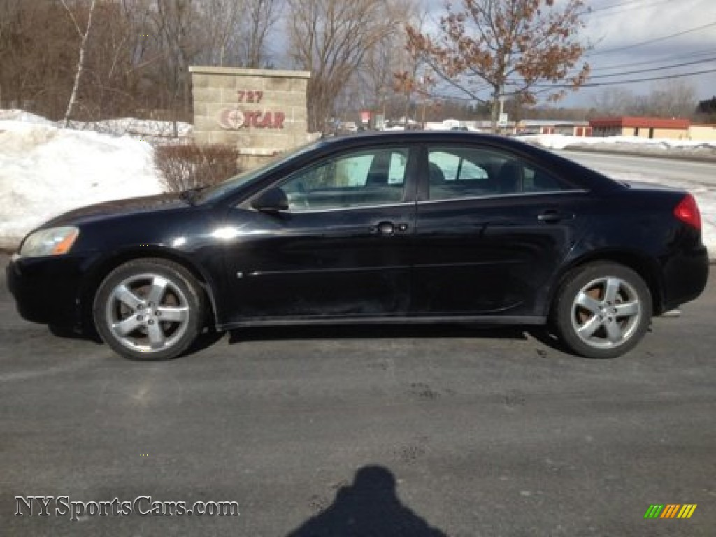 2008 Pontiac G6 Gt Sedan In Black 122833 Nysportscars