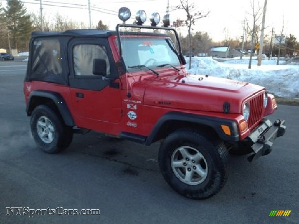 2002 jeep wrangler x 4x4 in flame red photo 3 771945 cars for sale in. Black Bedroom Furniture Sets. Home Design Ideas