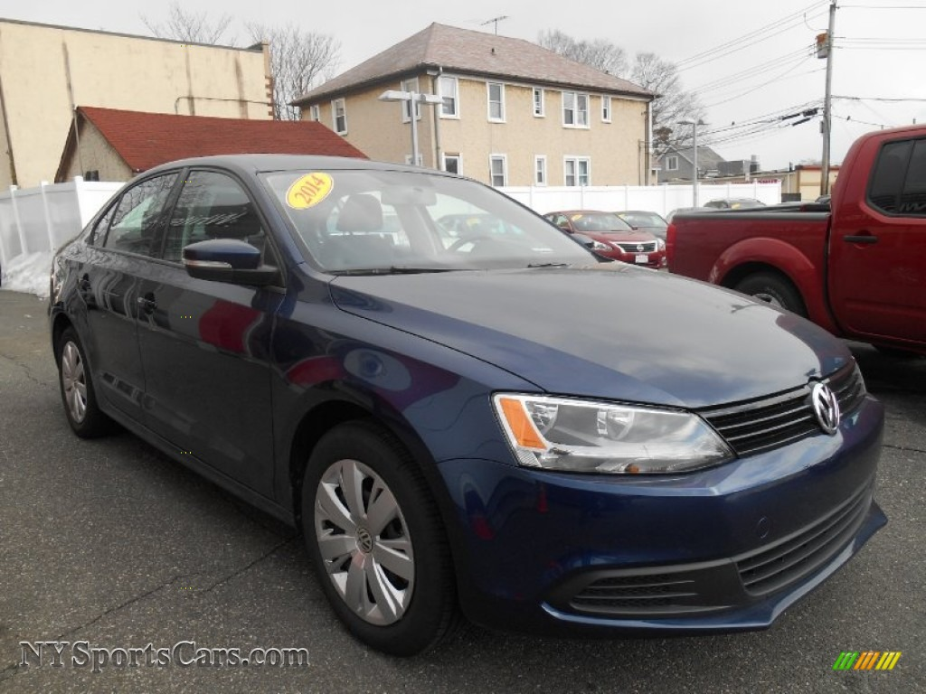 2014 volkswagen jetta se sedan in tempest blue metallic 211023 cars for. Black Bedroom Furniture Sets. Home Design Ideas