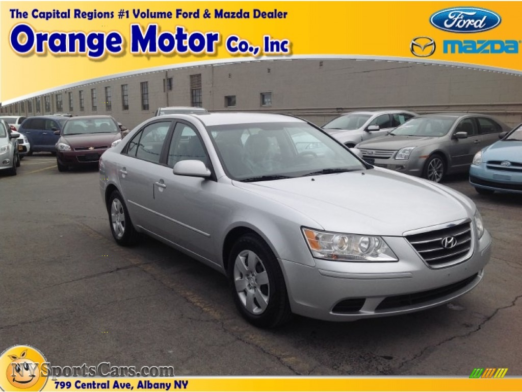 2009 hyundai sonata gls in bright silver 537103 for Orange motors albany new york