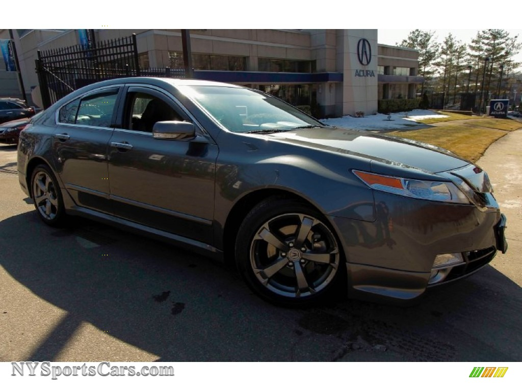 2011 acura tl 3 7 sh awd technology in polished metal metallic 000012. Black Bedroom Furniture Sets. Home Design Ideas