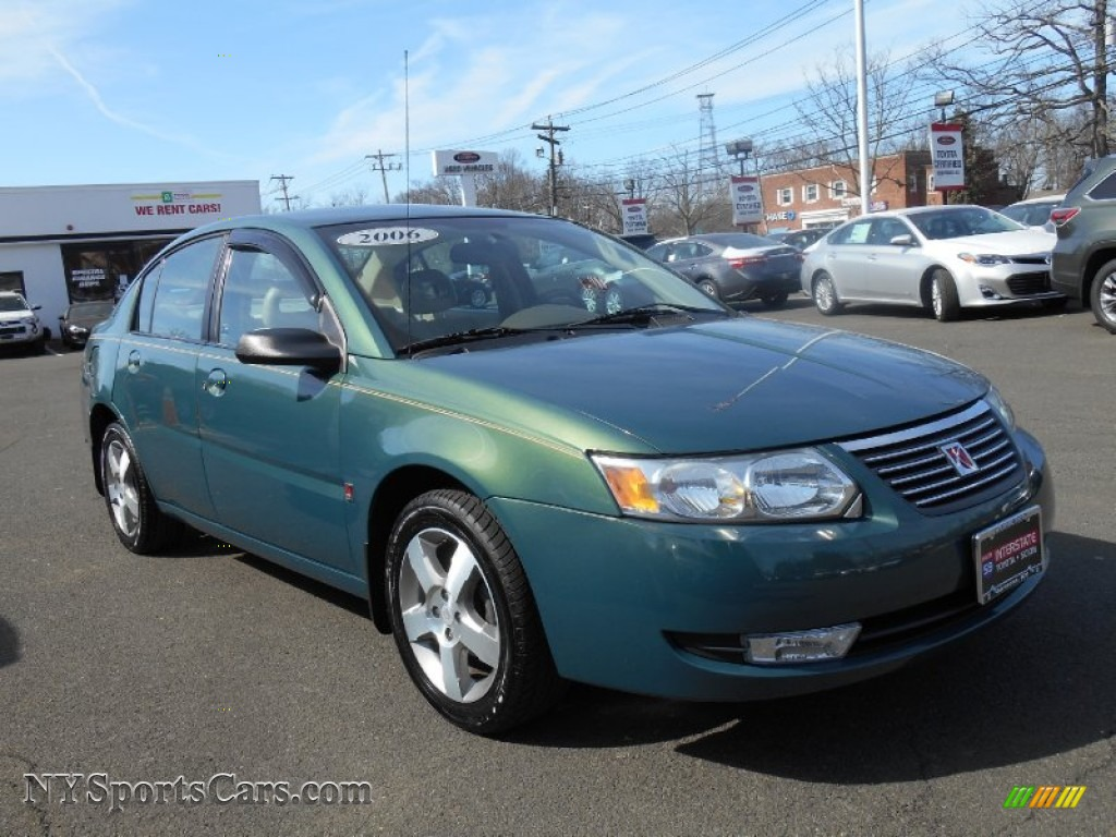 2006 Saturn Ion 3 Sedan In Cypress Green Photo 3 141057 Nysportscars Com Cars For Sale In New York