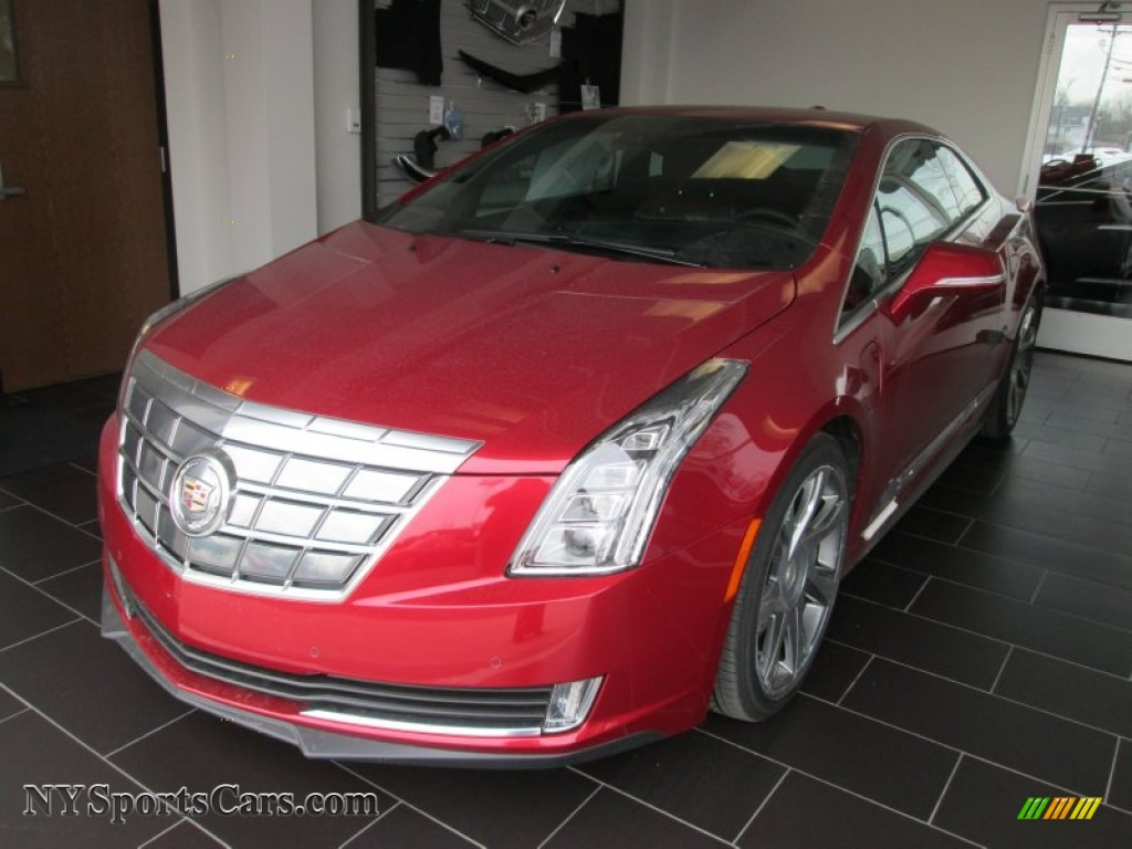 2014 cadillac elr coupe in crystal red tintcoat 600567 cars for sale in. Black Bedroom Furniture Sets. Home Design Ideas