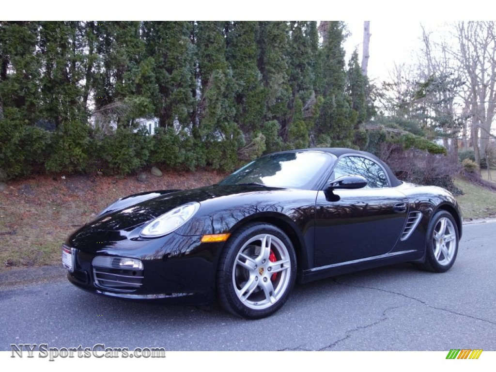 2007 porsche boxster s in black 730748 cars for sale in new york. Black Bedroom Furniture Sets. Home Design Ideas