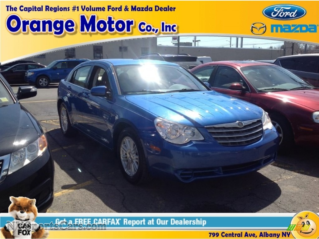 2007 chrysler sebring touring sedan in marathon blue pearl for Orange motors albany new york