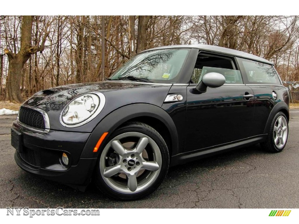 2009 mini cooper s clubman in midnight black p90467 cars for sale in new york. Black Bedroom Furniture Sets. Home Design Ideas