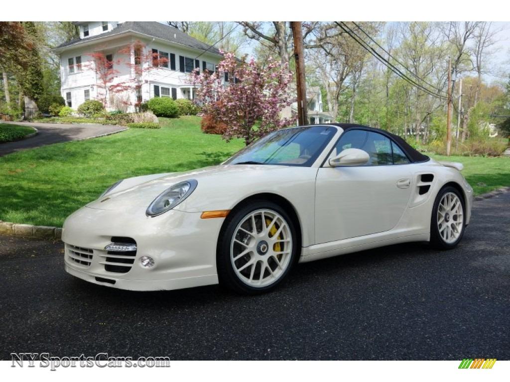 2010 porsche 911 turbo cabriolet in cream white 773208 cars for sale in. Black Bedroom Furniture Sets. Home Design Ideas