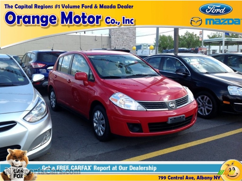 2007 nissan versa s in red alert photo 10 446583 for Orange motors albany new york
