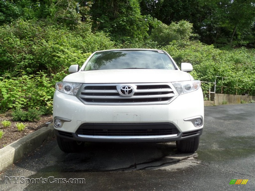 2011 toyota highlander limited 4wd in blizzard white pearl 077278 cars. Black Bedroom Furniture Sets. Home Design Ideas