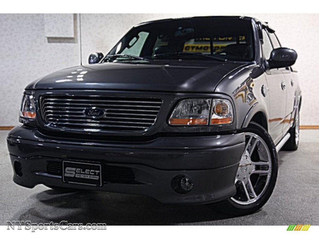 2002 ford f150 harley davidson supercrew in dark shadow grey metallic d04461 nysportscars. Black Bedroom Furniture Sets. Home Design Ideas