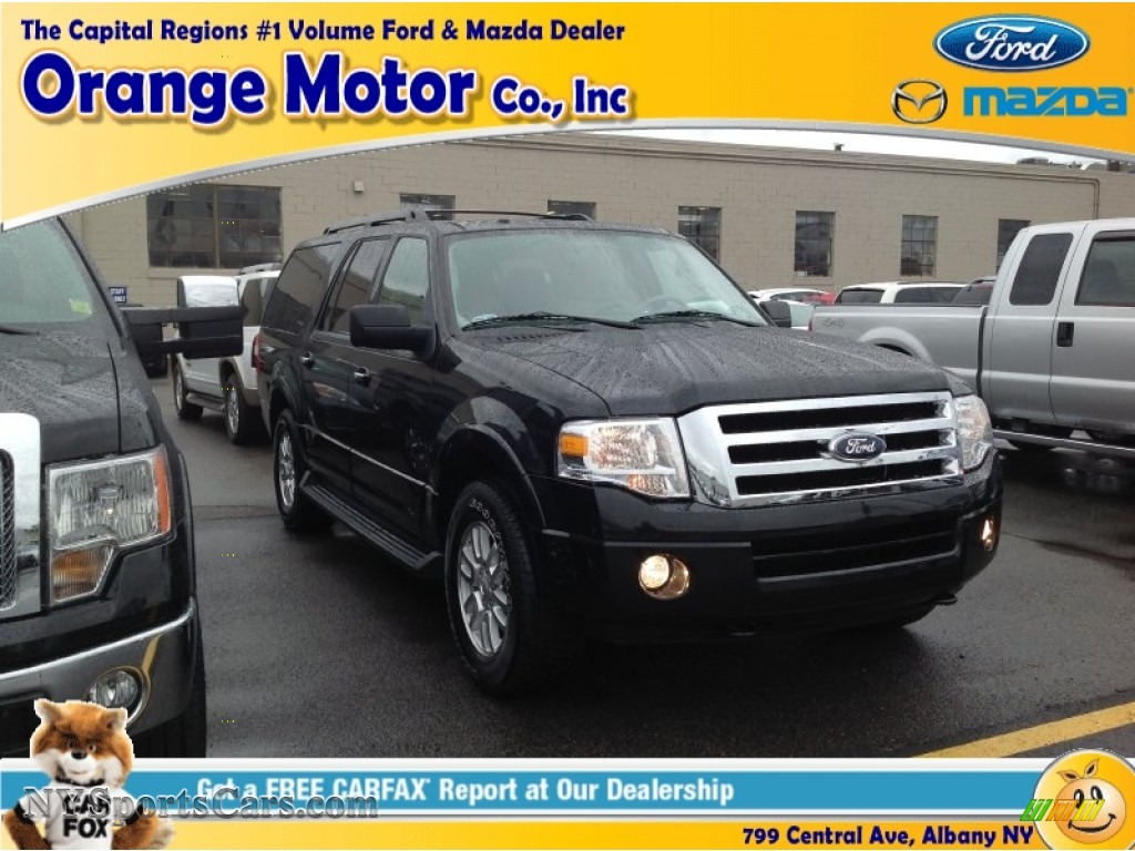 2014 ford expedition el xlt 4x4 in tuxedo black f03647 for Orange motors albany new york