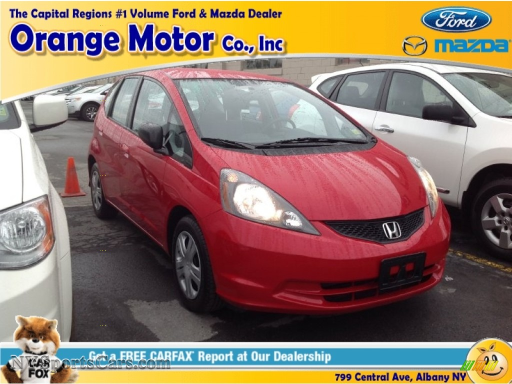 2009 honda fit in milano red 031051 for Orange motors albany new york