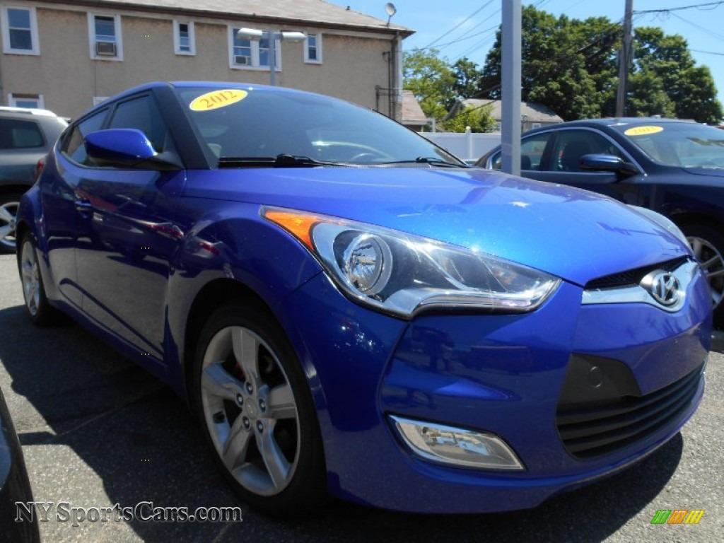 2012 hyundai veloster in marathon blue 035182 cars for sale in new york. Black Bedroom Furniture Sets. Home Design Ideas
