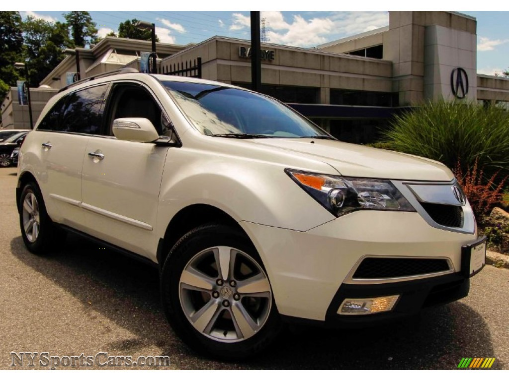 2011 acura mdx in aspen white pearl 501609. Black Bedroom Furniture Sets. Home Design Ideas