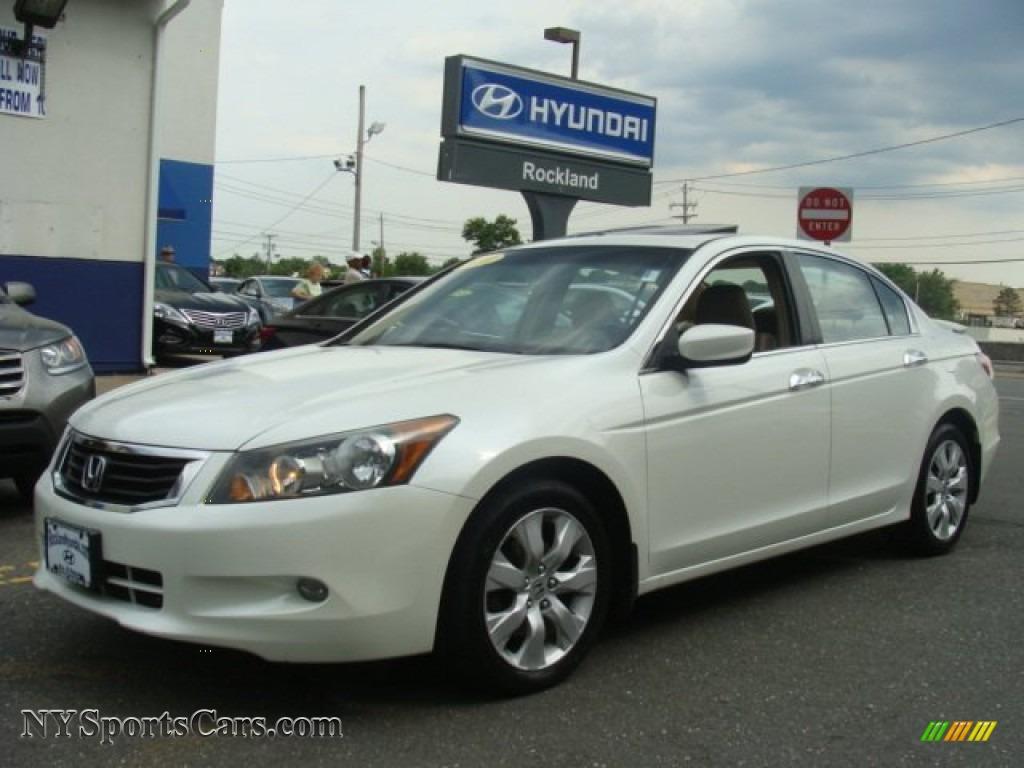 2008 Honda Accord Ex L V6 >> 2008 Honda Accord Ex L V6 Sedan In White Diamond Pearl