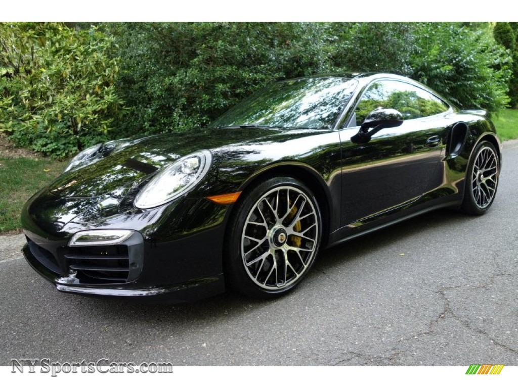 2014 porsche 911 turbo s coupe in black 167421 cars for sale in new york. Black Bedroom Furniture Sets. Home Design Ideas