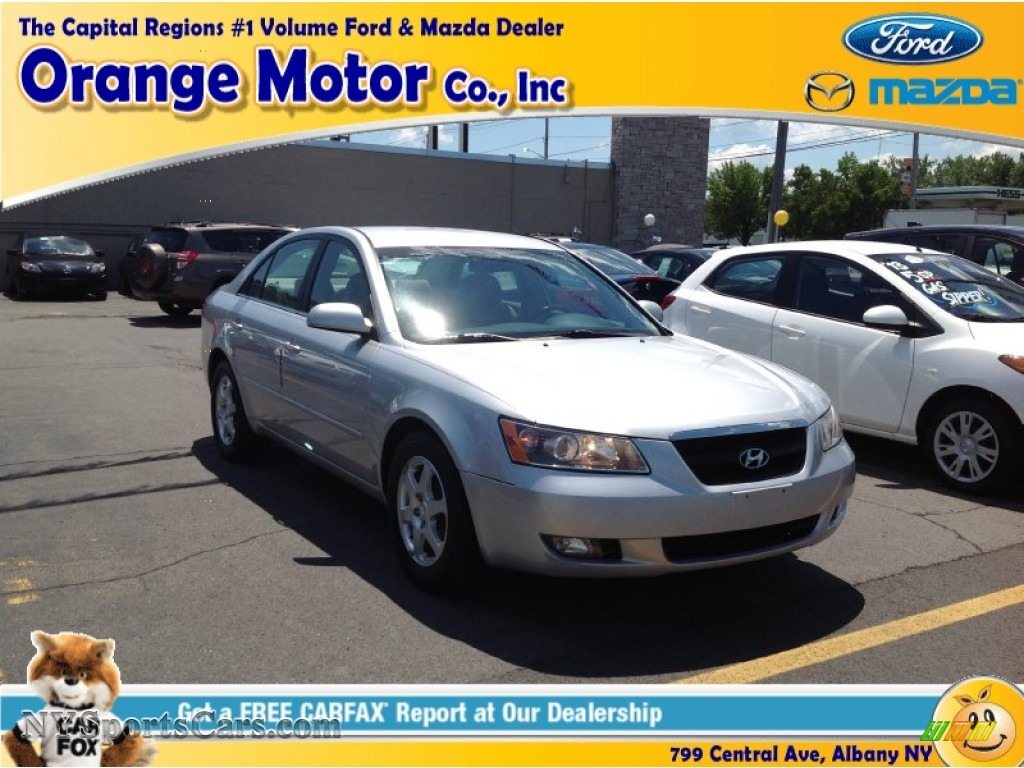 2006 hyundai sonata gls v6 in bright silver 088823 for Orange motors albany new york