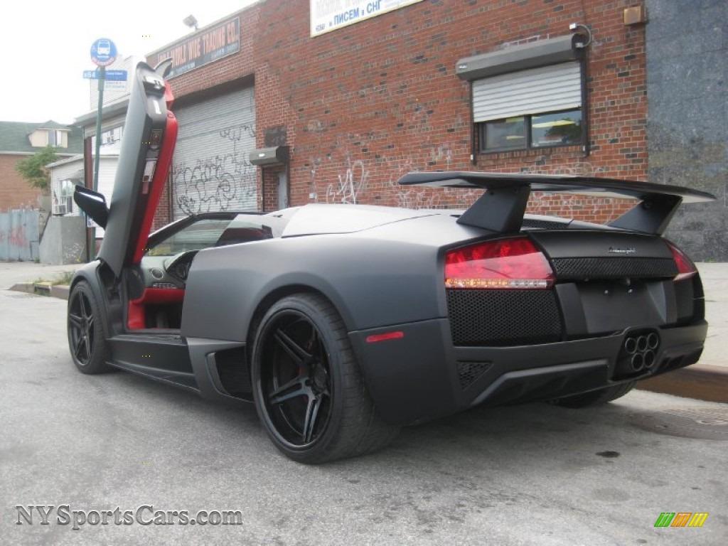 2008 Lamborghini Murcielago Lp640 Roadster In Matte Black Photo 21