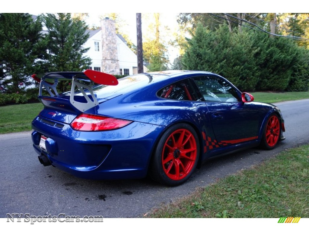 2011 Porsche 911 Gt3 Rs In Aqua Blue Metallic Guards Red Photo 6 783108 Nysportscars Com Cars For Sale In New York