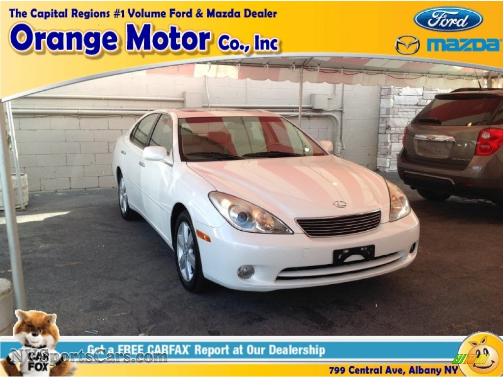 2005 lexus es 330 in crystal white 125061 nysportscars for Orange motors albany new york