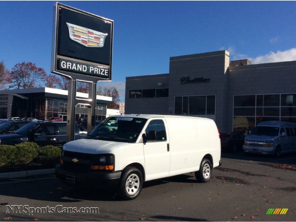 2014 chevrolet express 1500 cargo wt in summit white photo for Mercedes benz of nanuet 99 ny 304 nanuet ny 10954