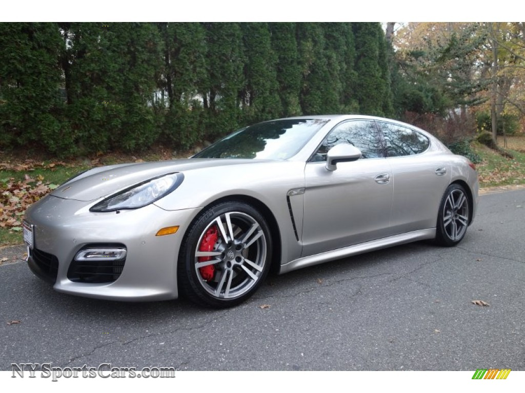 2012 Porsche Panamera Turbo In Platinum Silver Metallic
