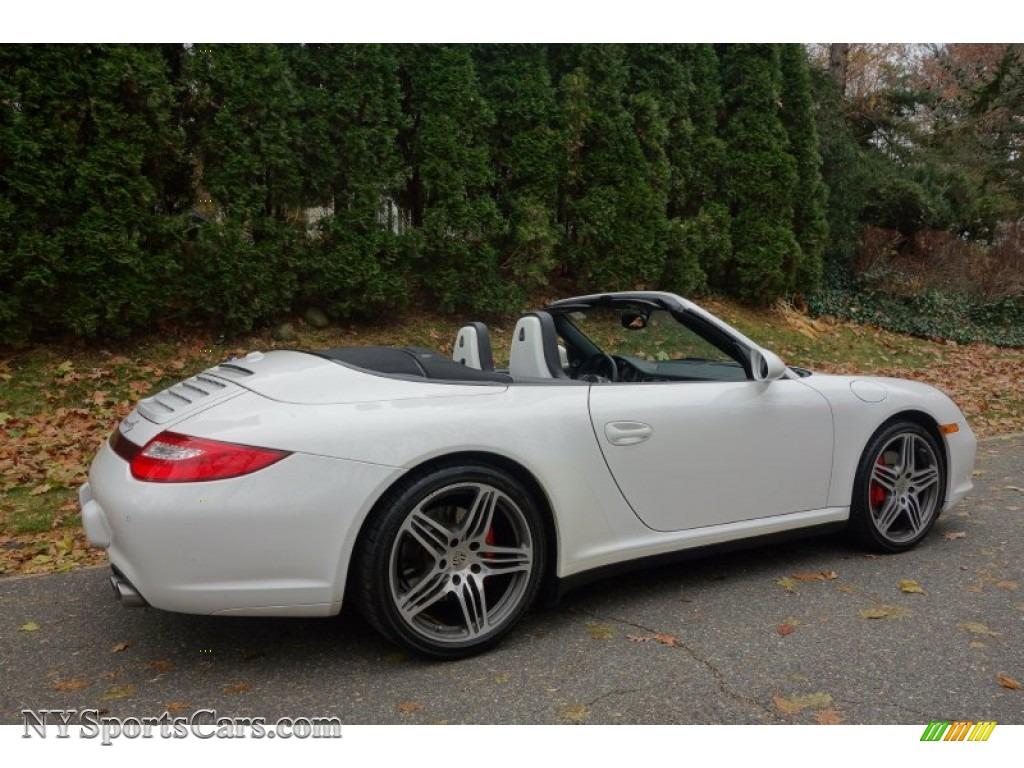 2010 porsche 911 carrera 4s cabriolet in carrara white photo 6 754616. Black Bedroom Furniture Sets. Home Design Ideas