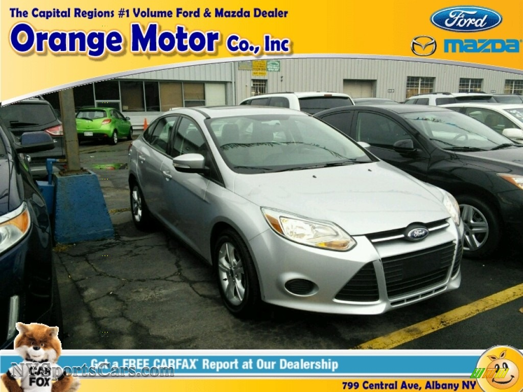 2013 ford focus se sedan in ingot silver 271851 for Orange motors albany new york